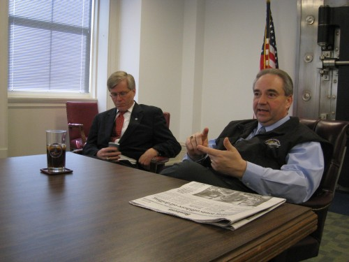 Bob McDonnell and Bill Bolling
