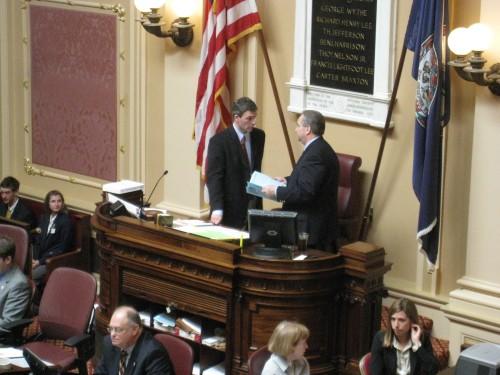Senator Cuccinelli and Bolling