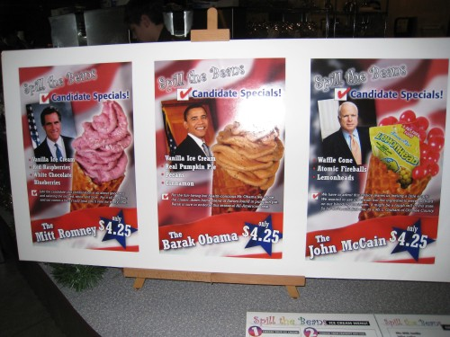 Romney, Obama, McCain