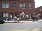 Outside of Rep. Goodlatte's Office