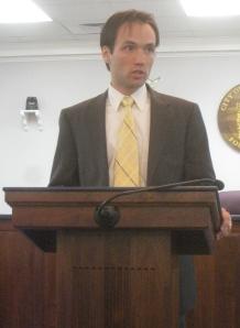 Virginia Libertarian gubernatorial candidaete Rob Sarvis